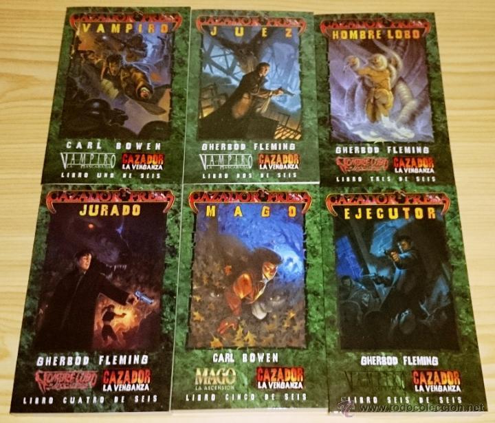 Libros de segunda mano: Colección completa de novelas Vampiro la Mascarada - Mundo de Tinieblas - 84 Libros - Foto 7 - 44620711