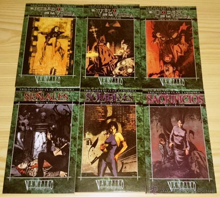 Libros de segunda mano: Colección completa de novelas Vampiro la Mascarada - Mundo de Tinieblas - 84 Libros - Foto 8 - 44620711
