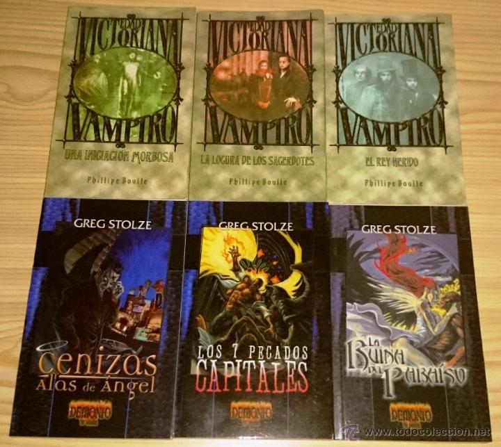Libros de segunda mano: Colección completa de novelas Vampiro la Mascarada - Mundo de Tinieblas - 84 Libros - Foto 9 - 44620711