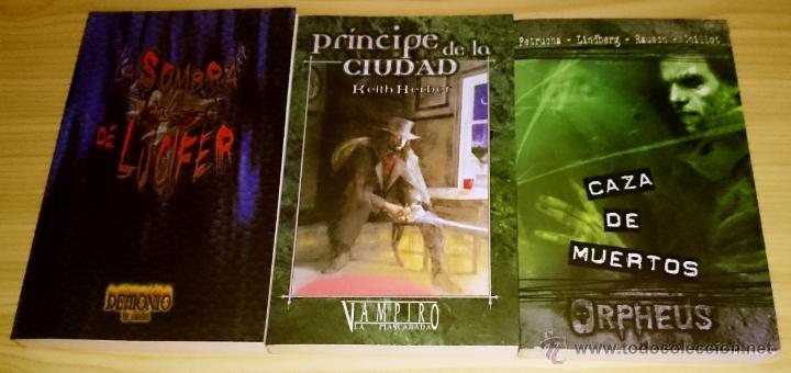 Libros de segunda mano: Colección completa de novelas Vampiro la Mascarada - Mundo de Tinieblas - 84 Libros - Foto 11 - 44620711