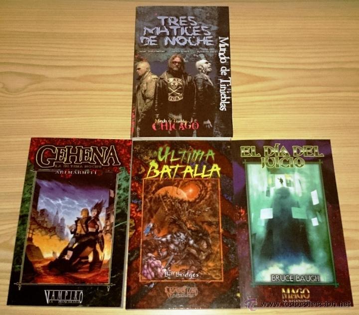 Libros de segunda mano: Colección completa de novelas Vampiro la Mascarada - Mundo de Tinieblas - 84 Libros - Foto 12 - 44620711