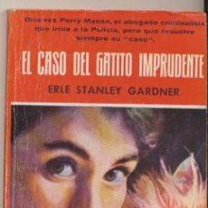 Libros de segunda mano: COLECCIÓN EL BUHO Nº 14. EL CASO DEL GATITO IMPRUDENTE POR E.S. GARDNER CLIPER 1958.. Lote 44838316