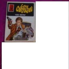 Libros de segunda mano: BOLSILIBRO BRUGUERA LA HUELLA Nº 61- LOU CARRIGAN - COSA NOSTRA1976 - 1ª EDICION - FABÁ. Lote 44923168