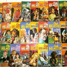 Livres d'occasion: LOTE DE 24 NOVELAS ILUSTRADAS DEL CLUB DEL MISTERIO DE BRUGUERA EN BARCELONA 1981-1982. Lote 45577387