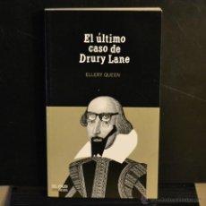Livres d'occasion: EL ULTIMO CASO DE DRURY LANE. ELLERY QUEEN. EL PAIS SERIE NEGRA 2004. LITERACOMIC.. Lote 46210293