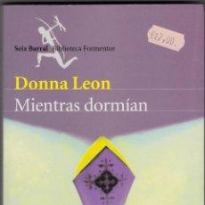 Libros de segunda mano - Mientras Dormían - Donna Leon - 46346159