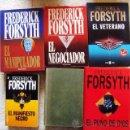 Libros de segunda mano: LIBRO LOTE 6 UNIDADES DEL AUTOR FEDERICK FORSYTH. Lote 46424130