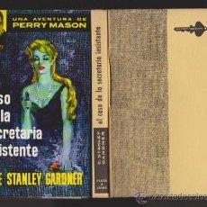 Libros de segunda mano: PERRY MASON - EL CASO DE LA SECRETARIA INSISTENTE - PLAZA & JANES 1961. Lote 46483769
