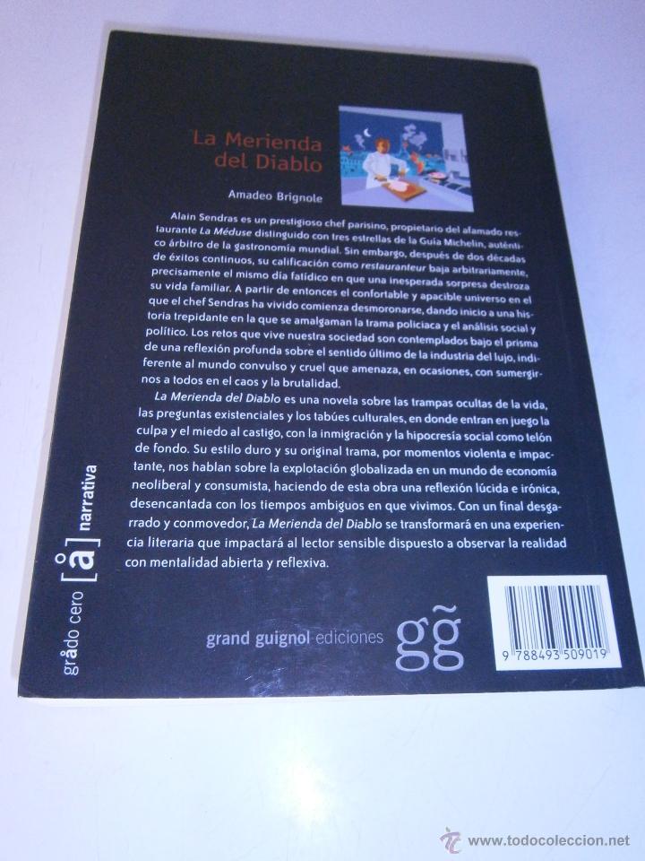 Libros de segunda mano: La merienda del diablo Brignole Amadeo Grand Guignol 2007 - Foto 3 - 46600873