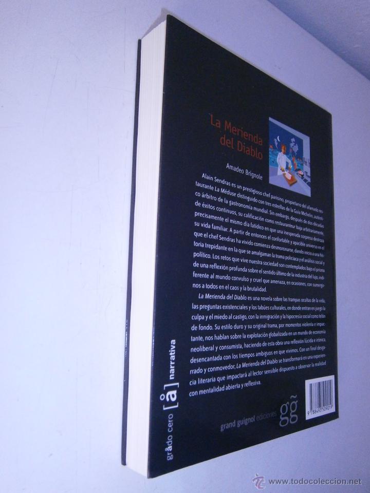 Libros de segunda mano: La merienda del diablo Brignole Amadeo Grand Guignol 2007 - Foto 4 - 46600873
