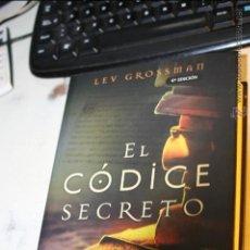 Libros de segunda mano: EL CODICE SECRETO, LEV GROSSMAN EDICIONES B, 1ª EDICION, 3ª REIMPRESION JULIO 2004. Lote 46611650