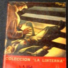 Libros de segunda mano: EL CRIMEN DEL PARQUE FORESTAL L.A. ISLA ZIG-ZAG AÑO 1946. Lote 141530164