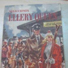 Libros de segunda mano: SELECCIONES ELLERY QUEEN Nº 6 VV.AA. EDITORIAL ZIG-ZAG AÑO 1953. Lote 166677756
