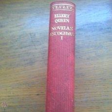 Libros de segunda mano: ELLERY QUEEN - NOVELAS ESCOGIDAS TOMO I. Lote 46918654