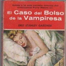 Libros de segunda mano: COLECCION EL BUHO Nº 5 EDI. G.P. - ERLE STANLEY GARDNER - EL CASO DEL BOLSO DE LA VAMPIRESA. Lote 47112359