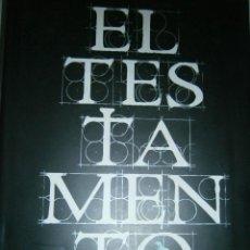 Libros de segunda mano: EL TESTAMENTO ERIC VAN LUSTBADER PLANETA 1 EDICION 2008. Lote 47121870