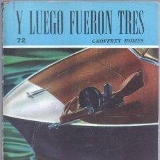 Libros de segunda mano: COLECCION RASTROS Nº 72 GEOFFREY HOMES - Y LUEGO FUERON TRES - ACME AGENCY 1947 - 191 PGS. Lote 47597804