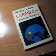 Libros de segunda mano: CARMILLA. Lote 47722124