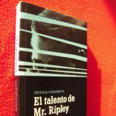 Libros de segunda mano: EL TALENTO DE MR. REPALAY - PATRICIA HIGHSMITH. Lote 47876224