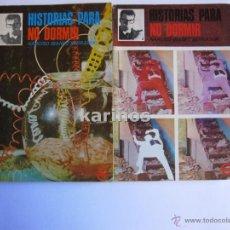 Libros de segunda mano: (2) HISTORIAS PARA NO DORMIR. NARCISO IBAÑEZ SERRADOR. 1968 C3. Lote 48163552