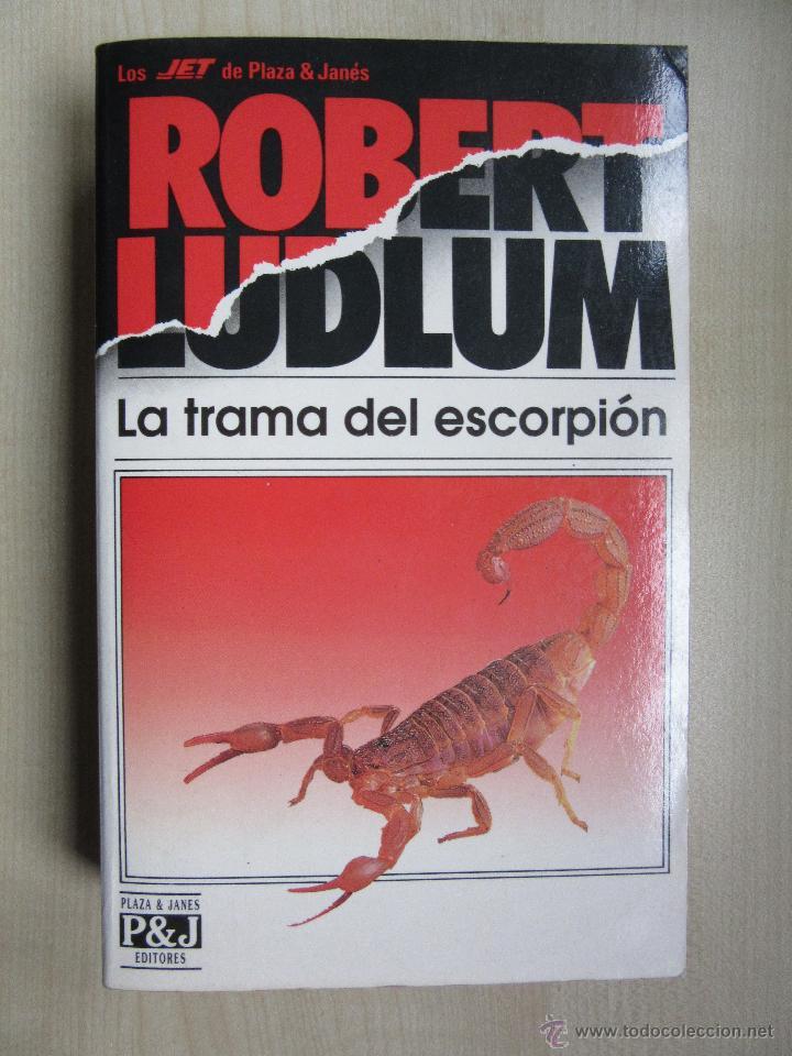 la trama del escorpión robert ludlum - Comprar Libros de terror ...