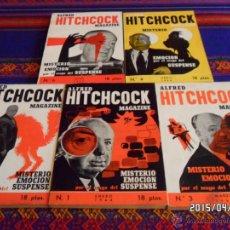 Libros de segunda mano: ALFRED HITCHCOCK MAGAZINE NºS 1, 2, 3, 4 Y 6. EDICIONES HYMSA 1964. 18 PTS. MUY BUEN ESTADO.. Lote 49071835
