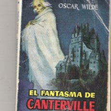 Libros de segunda mano: 1 ANTIGUA NOVELA ENANA AÑOS 50 - EL FANTASMA DE CANTERVILLE Nº 5 ( OSCAR WILDE - BILBLIOTECA PULGA ). Lote 49475421