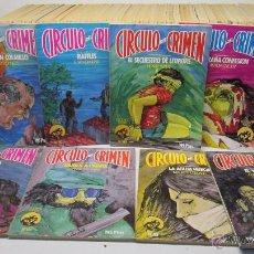 Libros de segunda mano: LOTE 38 LIBROS CIRCULO DEL CRIMEN ED. FORUM, TAMBIÉN SUELTOS,MIRA LISTADO. Lote 74100199