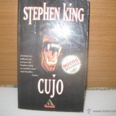 Libros de segunda mano: CUJO, STEPHEN KING. Lote 49573927