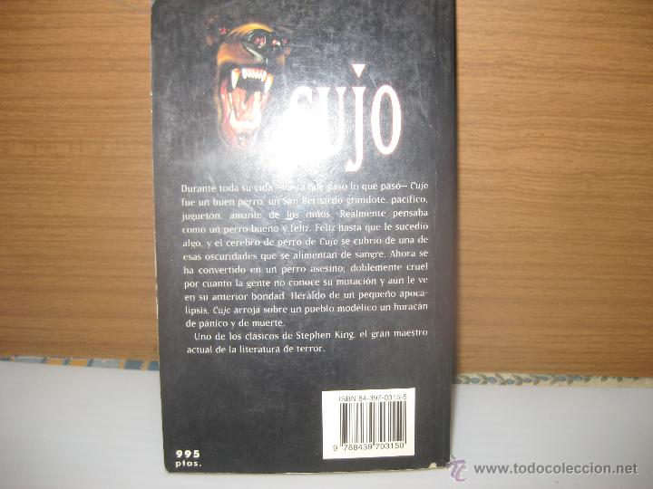 Libros de segunda mano: Cujo, stephen king - Foto 2 - 49573927