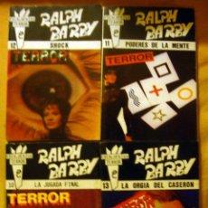 Libros de segunda mano: NOVELA DE TERROR RALP BARBY 4 NOVELAS Nº 10-11-12-13 NUEVAS 1988. Lote 49660694