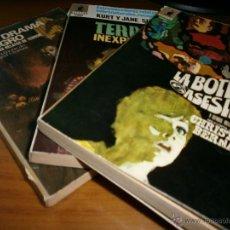 Libros de segunda mano: LOTE 3 LIBROS BIBLIOTECA ORO - SERIE TERROR - Nº 16,21,31 - EDITORIAL MOLINO - AÑOS 60 Y 70.. Lote 49944243