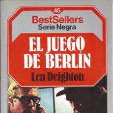 Libros de segunda mano: LEN DEIGHTON - EL JUEGO DE BERLIN V. Lote 50168158