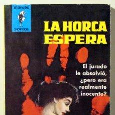 Libros de segunda mano: YORK, JEREMY - LA HORCA ESPERA - BRUGUERA 1963. Lote 29422590