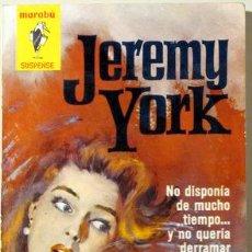 Libros de segunda mano: EL PRECIO DE LA MUERTE (*MARK KILBY SOLVES A MURDER*) - YORK, JEREMY - BRUGUERA 1963. Lote 29463994