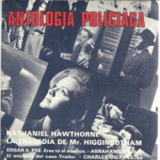 Libros de segunda mano: ANTOLOGÍA POLICIACA. EDICIONES ACERVO. BARCELONA. 1981. Lote 50405955