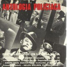 Libros de segunda mano: ANTOLOGÍA POLICIACA. EDICIONES ACERVO. BARCELONA. 1981. Lote 50405977