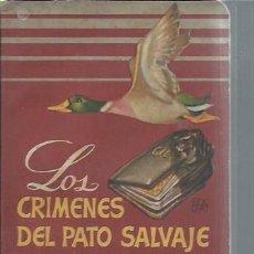 Libros de segunda mano: LOS CRÍMENES DEL PATO SALVAJE, THEODORA DU BOIS, EDITORIAL MOLINO BCN 1950, RÚSTICA, 251 PÁGS. Lote 50431460