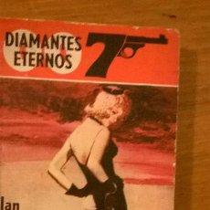 Libros de segunda mano: DIAMANTES ETERNOS, POR IAN FLEMING - EDIC. ALBON - IMPRESO EN DINAMARCA - PRIMERA EDICIÓN 1968. Lote 50580994