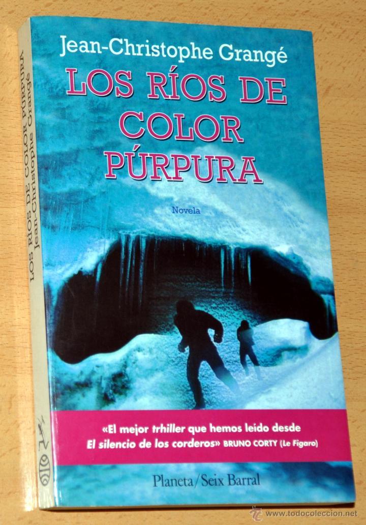 los ríos de color púrpura - de jean-christophe - Comprar Libros de ...