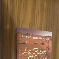 Libros de segunda mano: LA ROSA DE JERICÓ. EVLEX. FRANCISCO MARTOS. ROCABOLSILLO, 1ª EDICIÓN. Lote 235597465