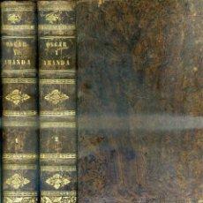 Libros de segunda mano: REGINA MARÍA ROCHE : OSCAR Y AMANDA (ESPASA HERMANOS, 1968) DOS TOMOS, CON GRABADOS. Lote 51542465