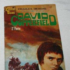 Libros de segunda mano: CLASICOS POPULARES, DAVID COPPERFIELD 2, ROLLAN 1972, NOVELA. Lote 51661723