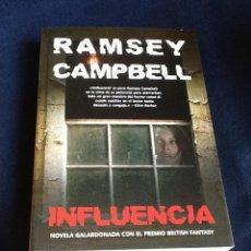 Libros de segunda mano: INFLUENCIA, RAMSEY CAMPBELL. Lote 52432001