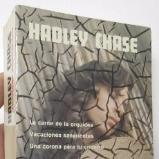 Libros de segunda mano: NOVELAS ESCOGIDAS - HADLEY CHASE. Lote 52707205