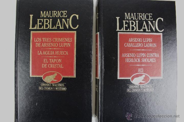 L-2599. MAURICE LEBLANC.ARSENIO LUPIN Y OTROS RELATOS. DOS LIBROS. (Libros de segunda mano (posteriores a 1936) - Literatura - Narrativa - Terror, Misterio y Policíaco)