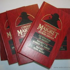 Libros de segunda mano: COMISARIO MAIGRET: 8 TOMOS OBRAS COMPLETAS GEORGES SIMENON, ORBIS 1987. VER FOTOS. Lote 53078292