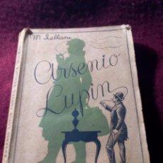 Libros de segunda mano: ARSENIO LUPIN CONTRA HERLOCK SHOLMES .- MAURICIO LEBLANC .- EDIT. RIVADENEYRA 1938. Lote 53178163