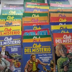 Libros de segunda mano: CLUB DEL MISTERIO-LOTE DE 28 NUMEROS. Lote 50236912