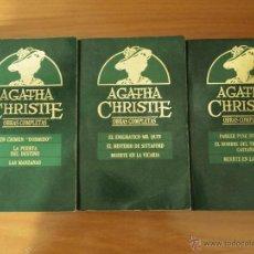 Libros de segunda mano: 9 NOVELAS DE AGATHA CHRISTIE. Lote 53600778